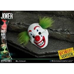 estatua joker the movie prime1 studio bonus version joaquin phoenix