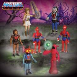 masters del universo figuras reaction wave 5 super7 she-ra mantenna hordak modulok grizzlor shadow weaver