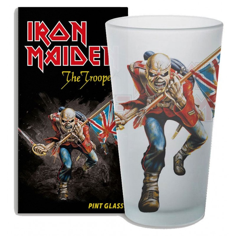 Vaso Iron Maiden. The Trooper