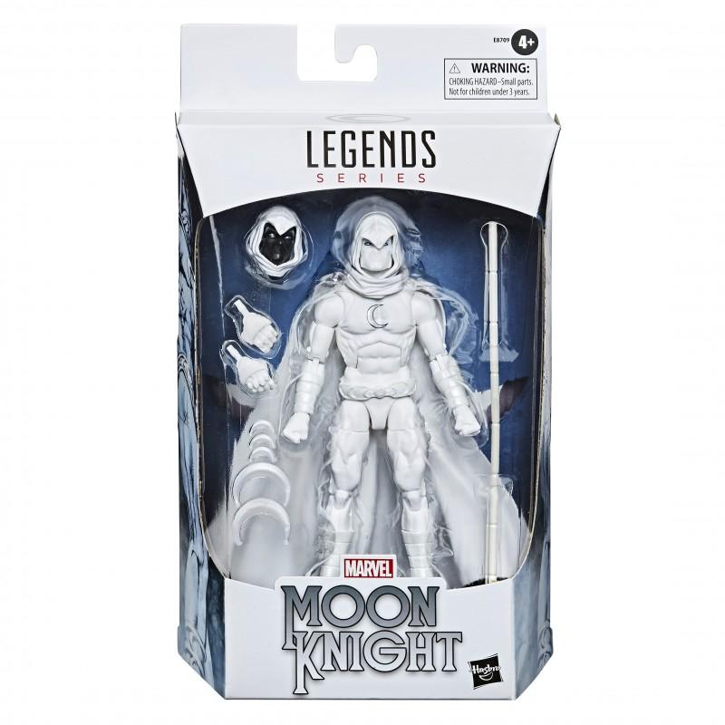 figura moon knight caballero luna marvel legends hasbro