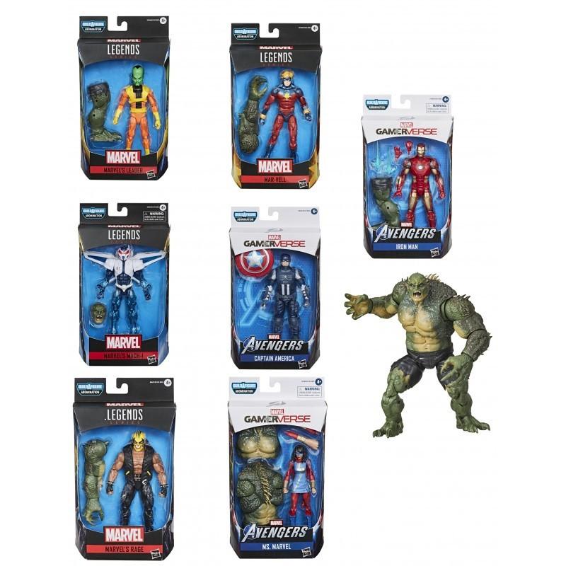 Pack figuras Avengers Gamerverse Abomination Marvel Legends