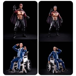 Pack Figuras Profesor X y Magneto X-Men 20 Aniversario Marvel Legends