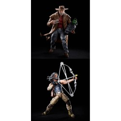 Pack Figuras Old Hawkeye y Old Logan X-Men 20 Aniversario Marvel Legends