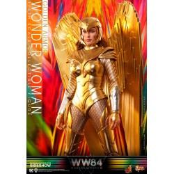 figura wonder woman golden armor hot toys 1984