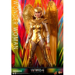 deluxe wonder woman 1984 golden armor hot toys