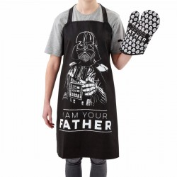 delantal star wars i am your father darth vader