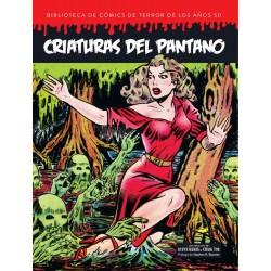 Criaturas del Pantano. Biblioteca de Cómics de Terror de los Años 50