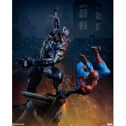 spiderman veneno maquette sideshow veneno