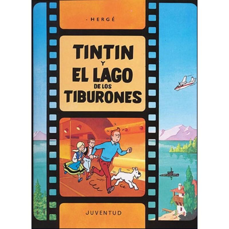 Tintín y el Lago de los Tiburones Comic