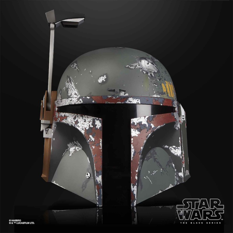 replica casco boba fett star wars black series hasbro