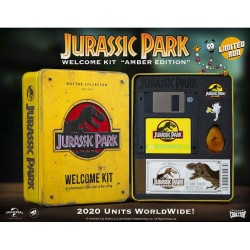 jurassic park amber edition welcome kit doctor collector
