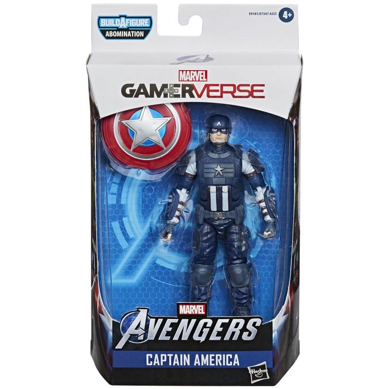 Figura Capitán América Gamerverse Marvel Legends