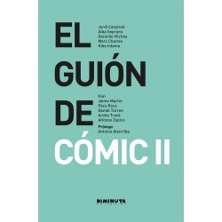 el guion de comic II diminuta editorial gerardo vilches