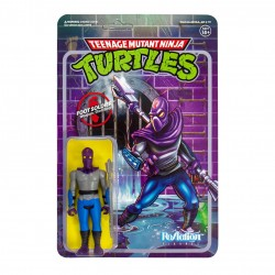 Figura Foot Soldier Tortugas Ninja ReAction Super7
