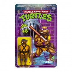 Figura Donatello Tortugas Ninja ReAction Super7