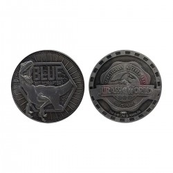 Moneda Jurassic World Blue Limited Edition