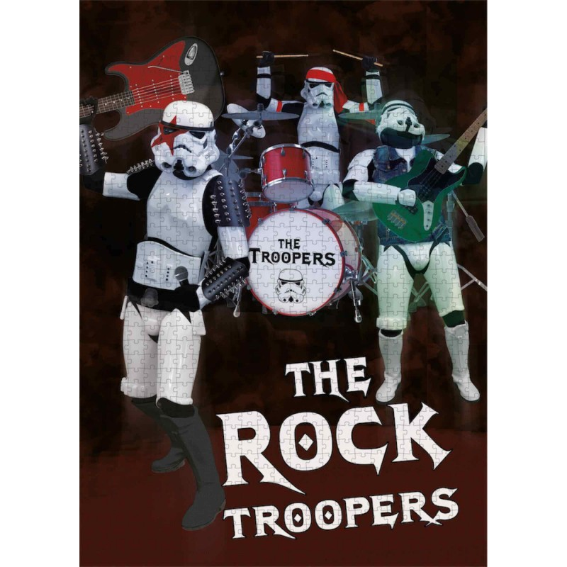 Puzzle 1000 Piezas The Rock Troopers Original Stormtrooper