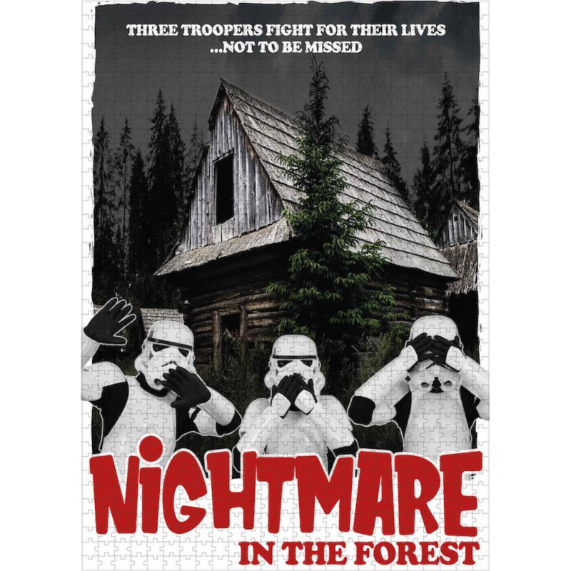 Puzzle 1000 Piezas Nightmare In The Forest Original Stormtrooper