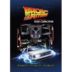 Puzzle 1000 Piezas Regreso Al Futuro Powered By Flux Capacitor