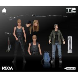 Figuras Sarah y John Connor Terminator 2 Neca
