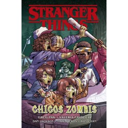 Stranger Things. Chicos Zombis