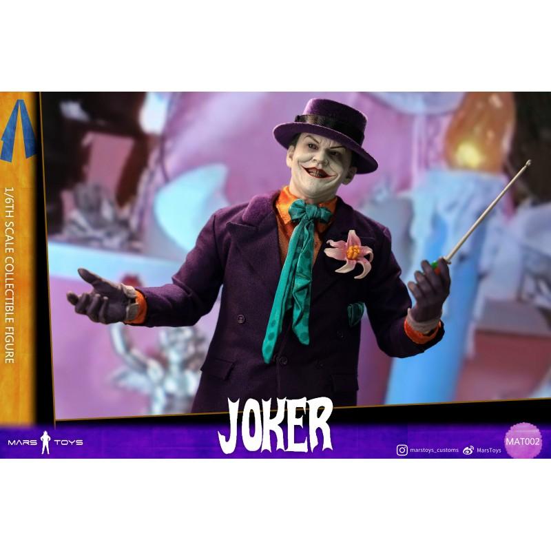 Figura Joker 1989 Batman Mars Toys Clown Figure