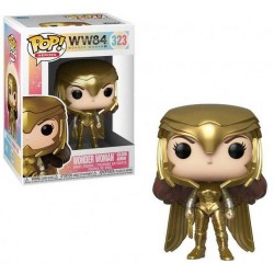 Wonder Woman 1984 Gold Power Pose POP Funko 323