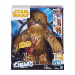 Peluche Chewie Ultimate Co-Pilot Con Sonido Star Wars Hasbro