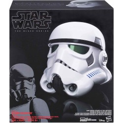 Stormtrooper Casco Replica Escala 1:1 Black Series Star Wars Hasbro