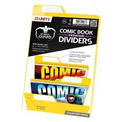 separadores comics ultimate guard color amarillo
