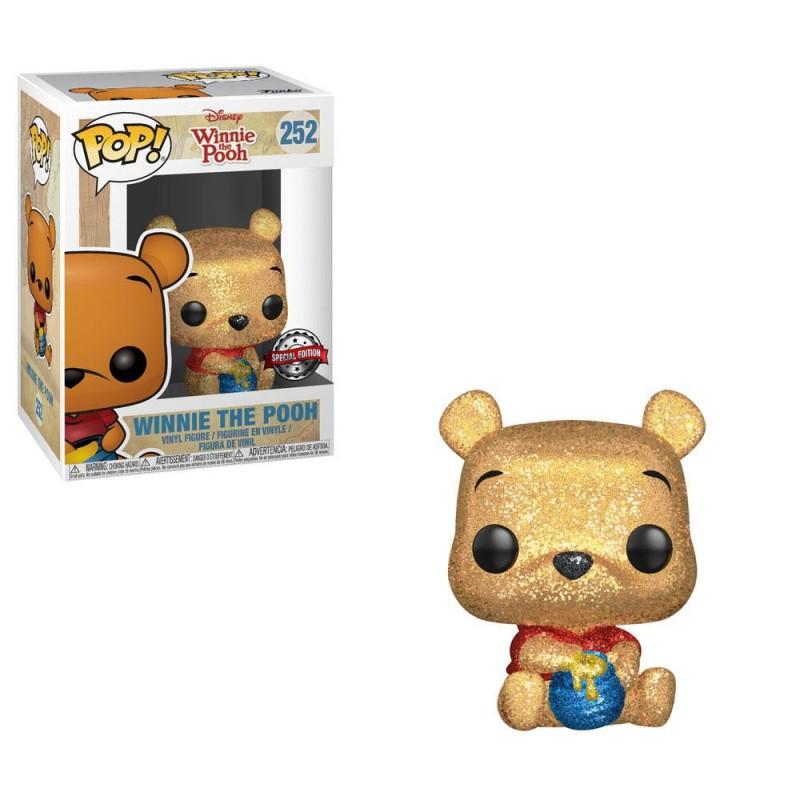 Winnie Pooh Diamond Glitter POP Funko 252