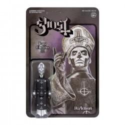 Figura Ghost Papa Emeritus III Black Series ReAction Super7