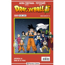 Dragon Ball Súper 31. Serie...