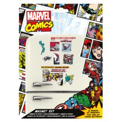 Set de Imanes Marvel Retro