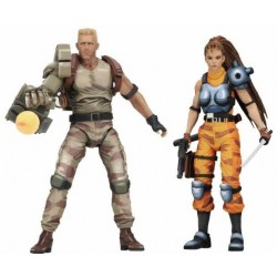 Pack Figuras Dutch y Lin Alien vs Predator Neca