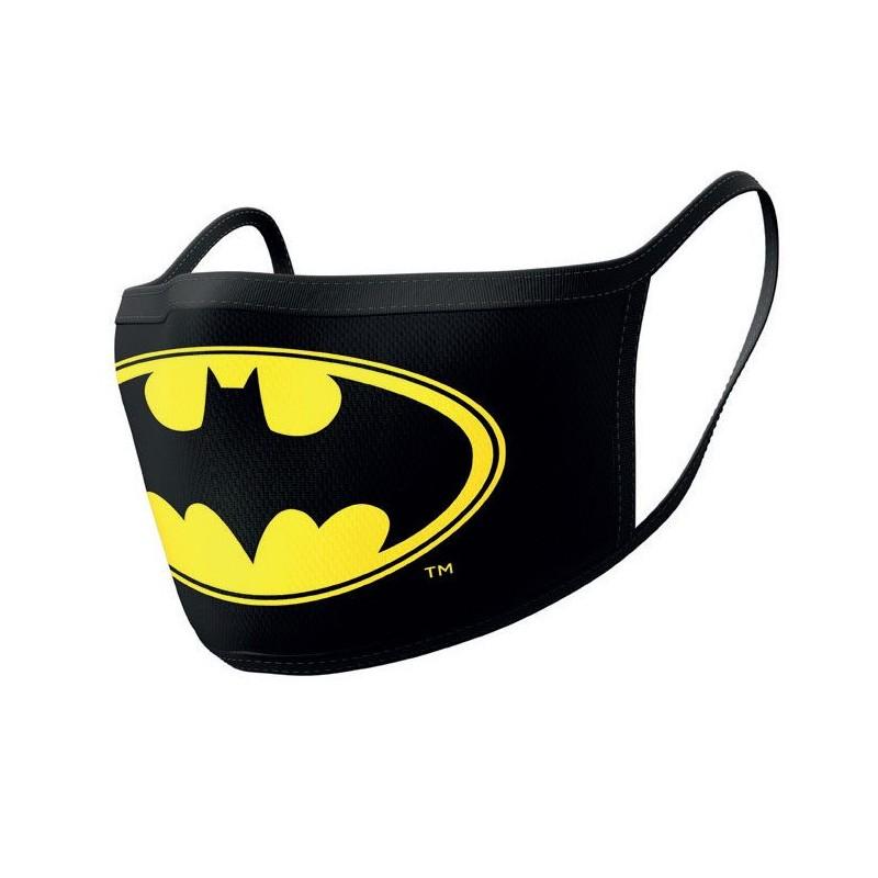 Pack de 2 Máscaras de Tela Batman Logo