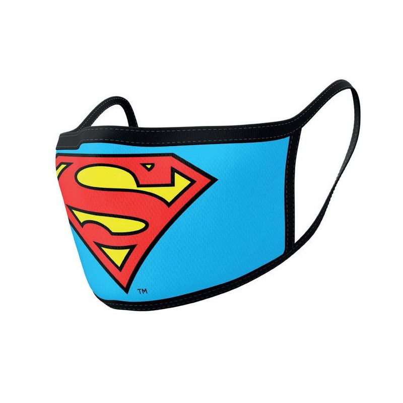 Pack de 2 Máscaras de Tela Superman
