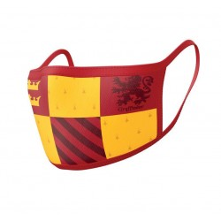 Pack de 2 Máscaras de Tela Harry Potter Gryffindor