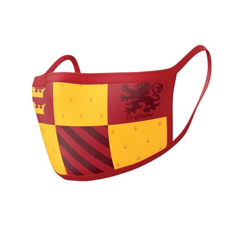 Pack de 2 Máscaras de Tela Harry Potter Gryffindor