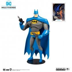 Figura Batman Animado Azul y Gris McFarlane Multiverse DC Comics