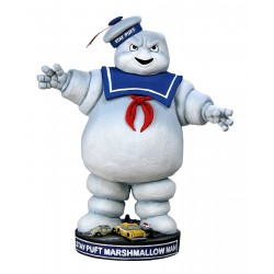 Figura Stay Puft Cazafantasmas Head Knocker