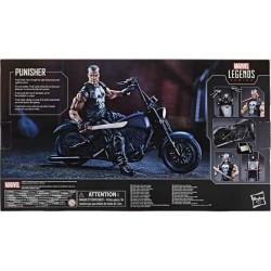 "Figura del Castigador ""Punisher"" Moto Marvel Legends Vehicle Hasbro"