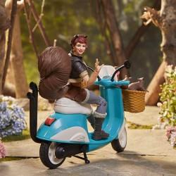 Figura Squirrel Girl Moto Marvel Legends Vehicle Hasbro
