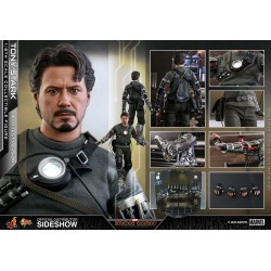 Figura Tony Stark Mech Test Iron Man Hot Toys