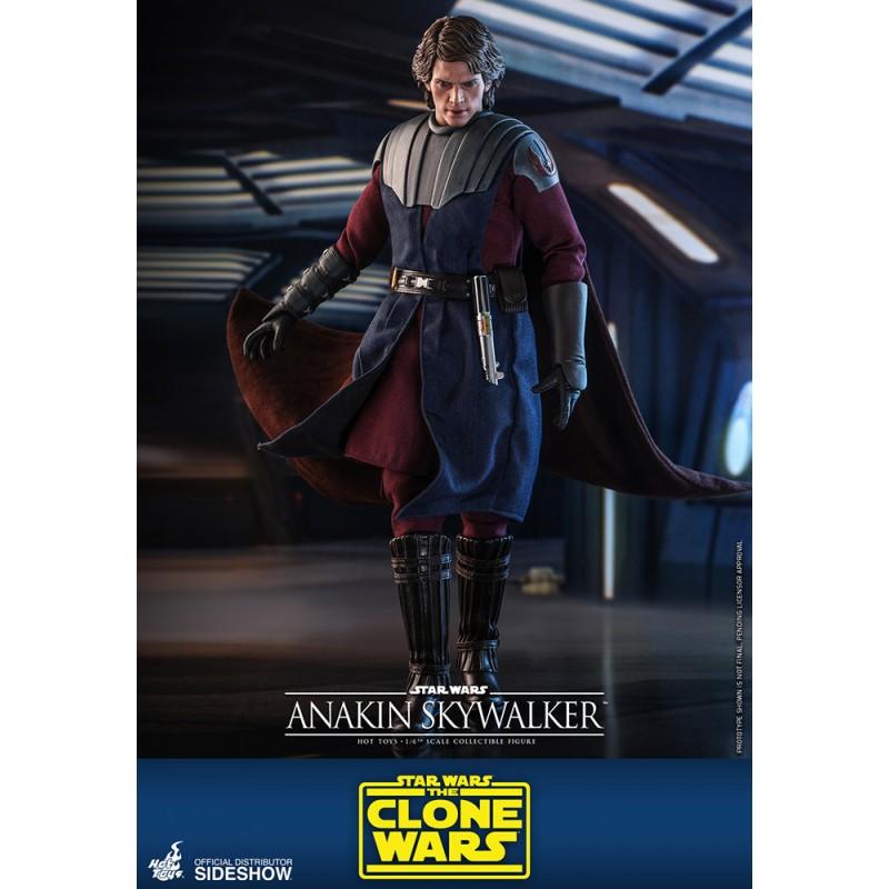 anakin skywalker hot toys figura clone wars
