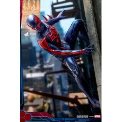 Figura Spider-Man 2099 Black Suit Videojuego Hot Toys Exclusiva Toy Fair 2020