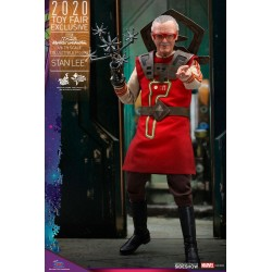 Figura Stan Lee Thor Ragnarok Hot Toys Exclusiva Toy Fair 2020