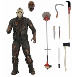 Figura Ultimate Jason Viernes 13 Parte 7 New Blood Neca