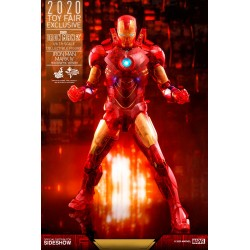 Figura Iron Man Mark IV Iron Man 2 Hot Toys Exclusiva Toy Fair 2020