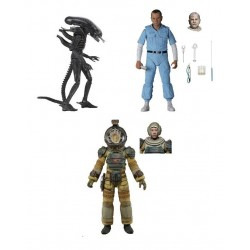 Pack Figuras Alien Ultimate 40 Aniversario Series 3 NECA